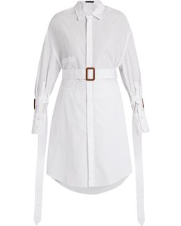 Katya Belted Cotton Shirt