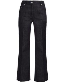 Low-slung Straight-leg Jeans
