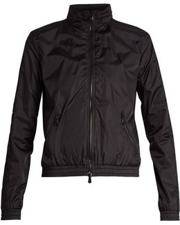 Concealed-hood Shell Performance Jacket