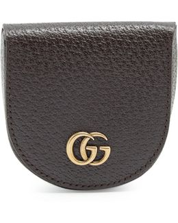 Gg Marmont Grained-leather Coin Purse
