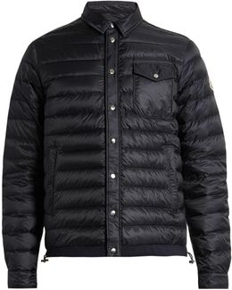 Christopher Quilted Down Jacket