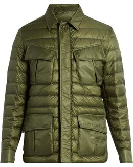Dereck Quilted Down Jacket