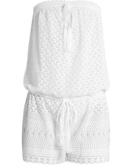 Everly Embroidered Georgette Playsuit