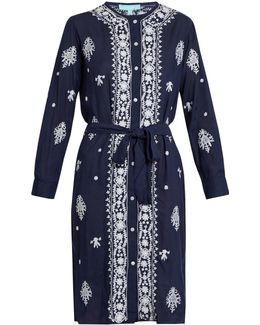 Fleur Embroidered Dress