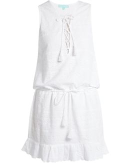 Layla Embroidered Cotton Dress