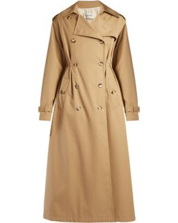 Rockstud Untitled #1 Gabardine Trench Coat