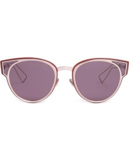 Sculpt Cat-eye Sunglasses