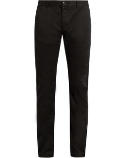 Repaired Cotton Chino Trousers