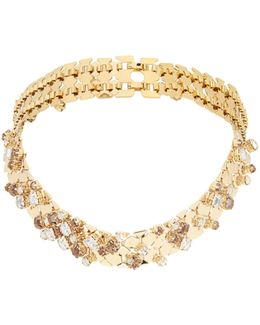 Chain Lumiere Crystal-embellished Necklace