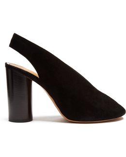 Meirid Suede Slingback Sandals