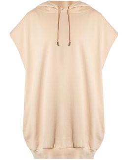 Leni Sleeveless Hooded Cotton Sweatshirt