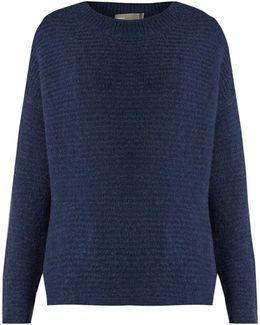 Wool And Cashmere-blend Bouclé-knit Sweater