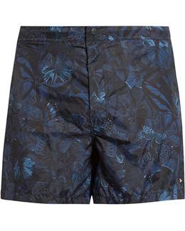 Butterfly-print Swim Shorts