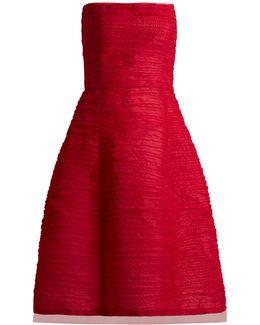 Pleated Silk-organza Dress