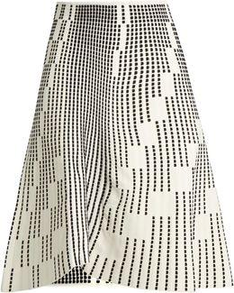 Wilson Textured-knit Skirt