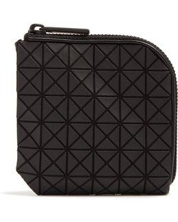 Triangular-panels Zip-around Wallet