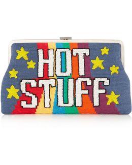 Hot Stuff Embellished Clutch