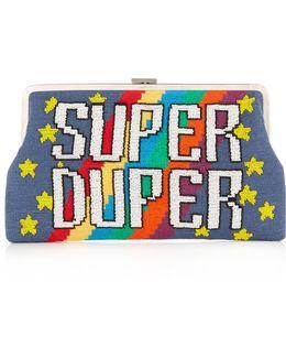 Super Duper Embellished Clutch