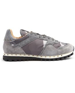 Rockrunner Camouflage-print Trainers