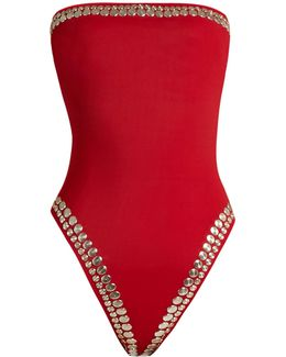 Bishop Studded Swimsuit