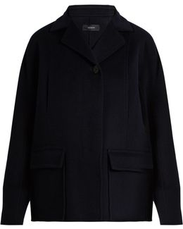 Caplan Wool And Cashmere-blend Coat