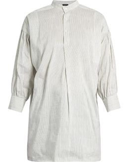 Phila Striped Silk Top