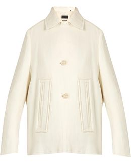 Etta Wool And Linen-blend Jacket