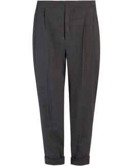 Neyo High-rise Cropped Trousers