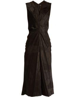 Ravenax V-neck Satin Dress