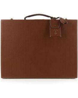 Grace 50cm Grained-leather Trunk