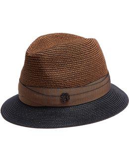 Ygor Hemp-straw Trilby Hat