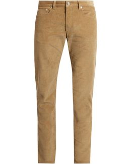 Petit New Standard Slim-leg Corduroy Trousers