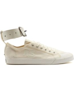 Spirit Buckle Low-top Canvas Trainers