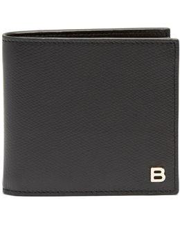 Logo-plaque Bi-fold Leather Wallet