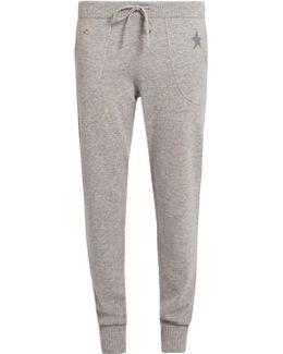 Star Cashmere-blend Track Pants