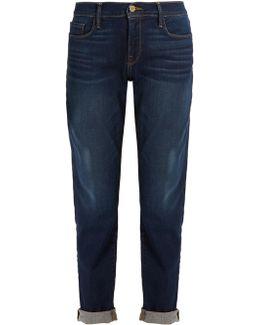 Le Garcon Mid-rise Straight-leg Boyfriend Jeans