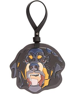 Rottweiler Leather Key Ring