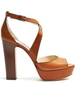 April 120mm Block-heel Sandals