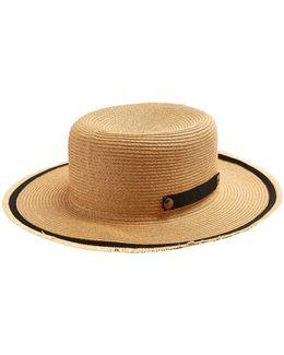Safari Paper-straw Hat