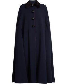 Murren Contrast-collar Cady Cape