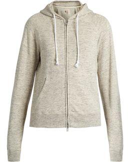 Hooded Cotton-jersey Sweatshirt