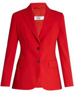 Fabia Tailored Wool-blend Jacket