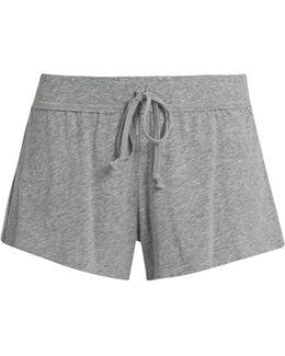 Drawstring Cotton Pyjama Shorts