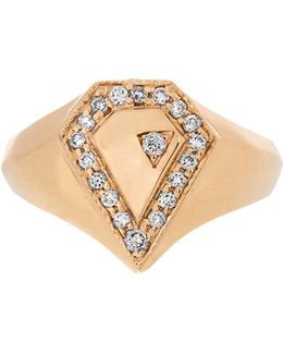 Diamond & Yellow-gold Ring