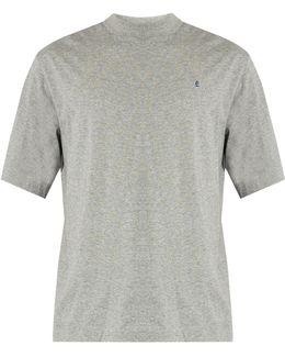 Award Logo-embroidered Cotton T-shirt