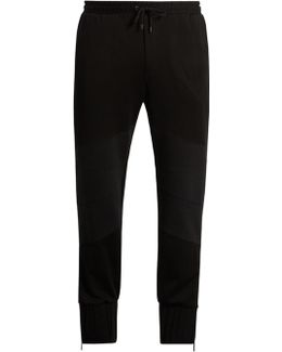 Raimundo Cotton-jersey Track Pants