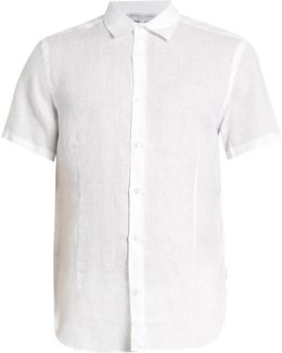 Meden Lightweight-linen Shirt