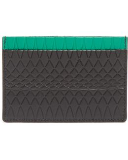 No.9 Embossed-leather Cardholder