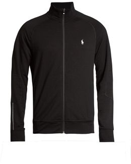 Zip-through Performance Sweatshirt