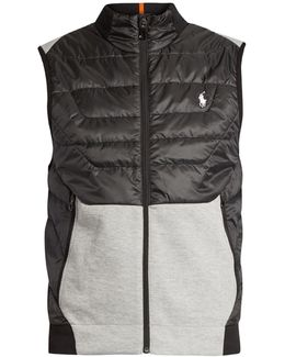 Contrast-panel Gilet